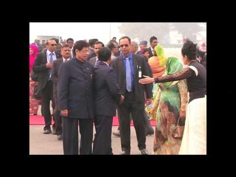 INDIA MALDIVES PRESIDENT ARRIVAL
