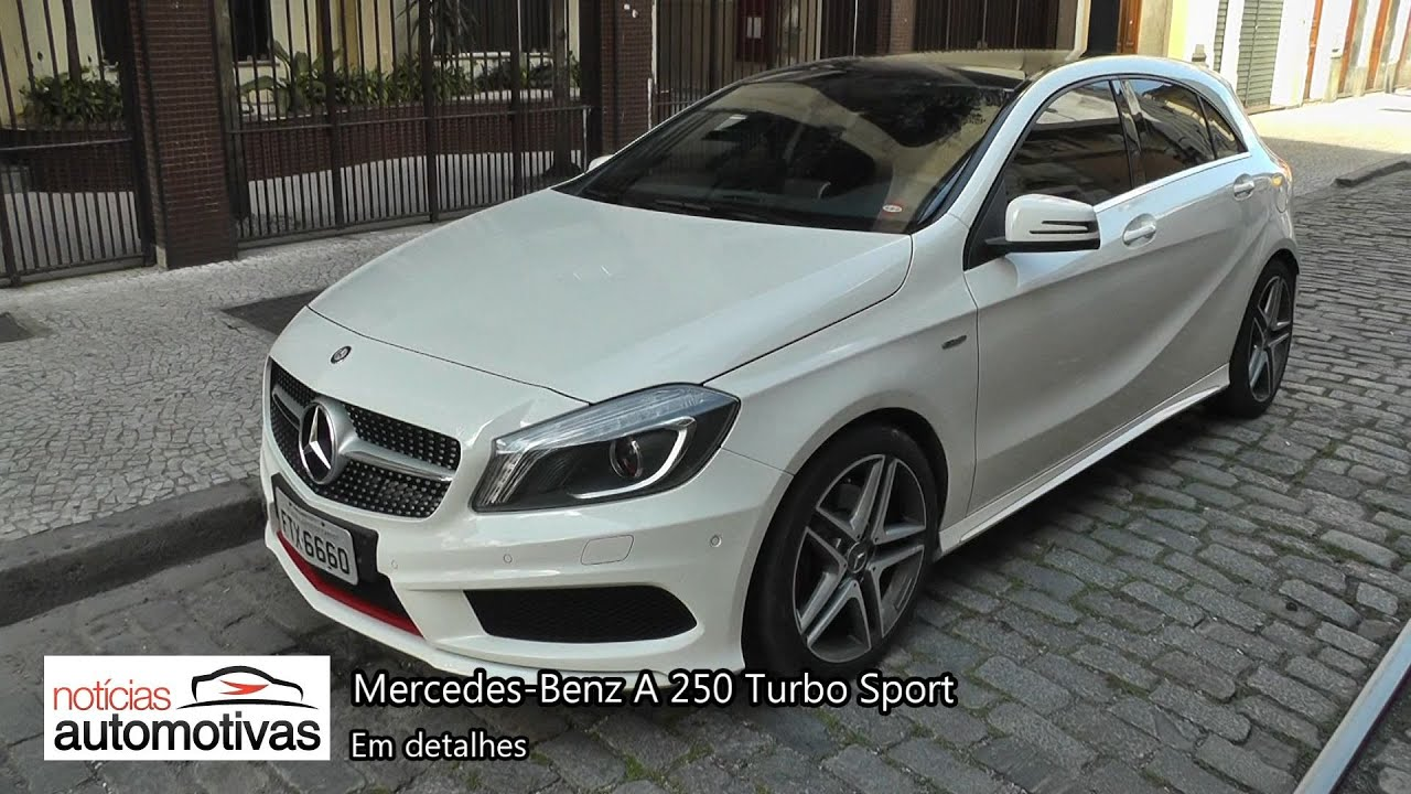 mercedes benz a 250 turbo sport youtube. Black Bedroom Furniture Sets. Home Design Ideas