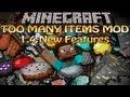 Minecraft Too Many Items Mod (1.4.2) TMI - Custom Enchantment and Favorite Tabs