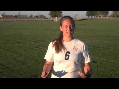 UAV Soccer - Postgame Interview with Shelby Moore