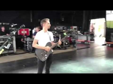 Muse - Fury Outro [Soundcheck At KeyBank Pavilion]