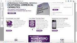 CREATE ACCOUNT IN First Midwest Bank