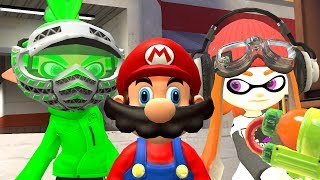 [SMG4 Entry] Spider with Mario and Meggy