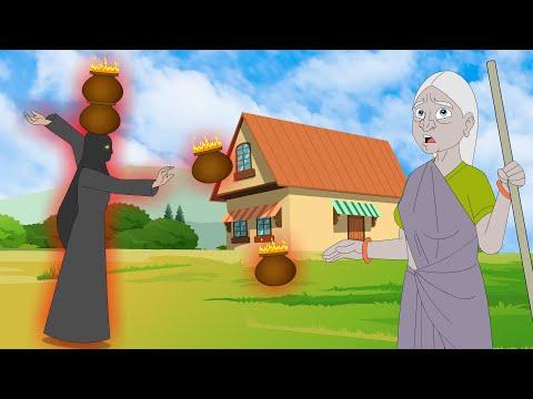 मटके वाली चुड़ैल | Hindi Kahaniya | Bedtime Moral Stories for Kids || Cartoon Fairy Tales