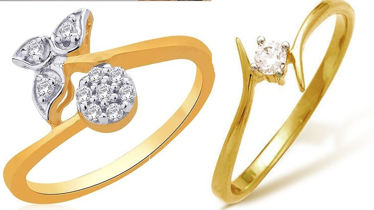 Beautiful 22k Regular Use Light Weight Gold rings Designs YT ...