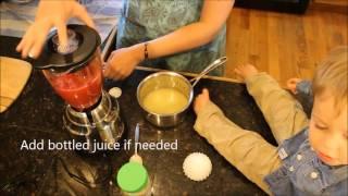 Easy Gut-Healing Strawberry Lemonade Gummies