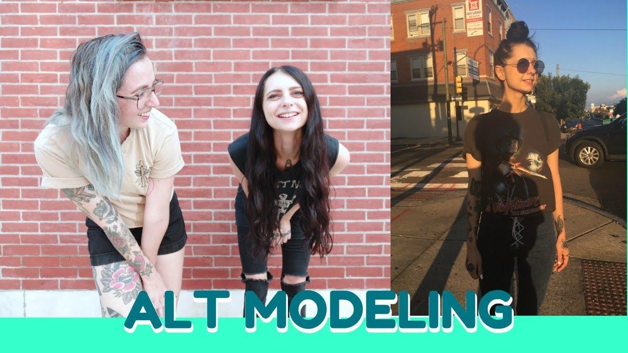 Alt Modeling! With Alexa Flame, Tattoo Talk Tuesday - YouTube
