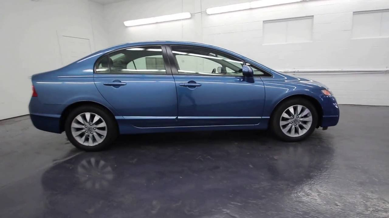 2009 Honda Civic Ex Atomic Blue Metallic 9h539347 Seattle On