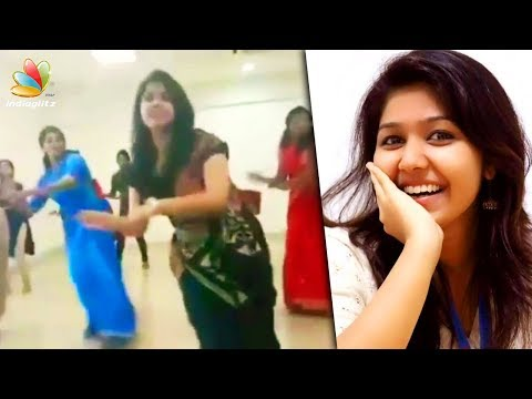 New Version Entammede Jimikki Kammal Dance | Sheril & Indian School of Commerce | Song Making