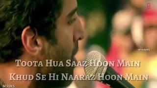 Toota hua Saz Hu Main Khud Se Naraz Hu Main Aashqui 2 created by MrVicky WS