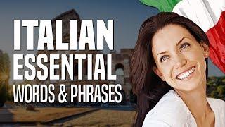 Learn italian lesson 1