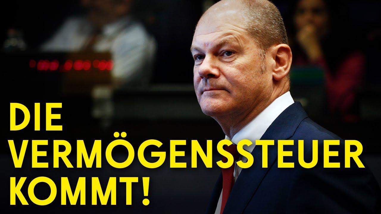 Olaf Scholz will eine Vermögenssteuer! Jetzt geht's ans Eingemachte! (Lastenausgleich)