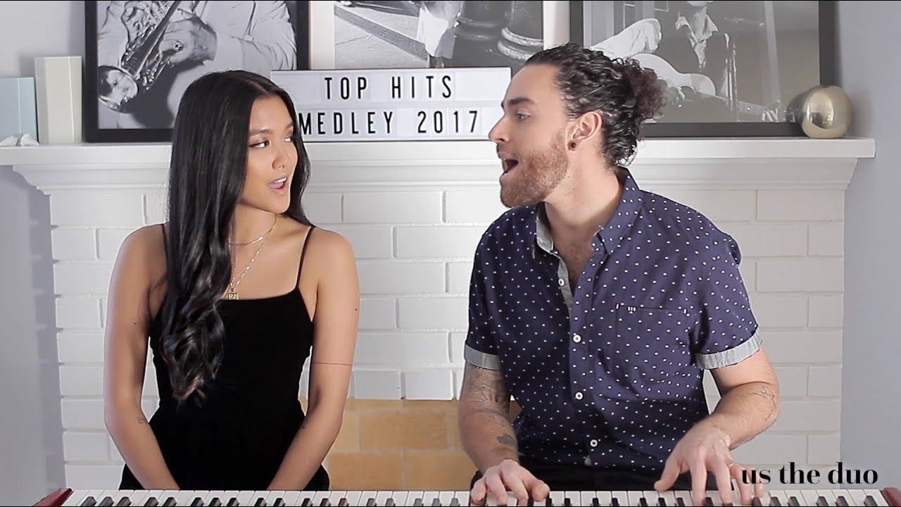 Top Hits of 2017 in 4 minutes - Us The Duo