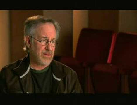 Indiana Jones 4 - Steven Spielberg interview PART 1/2