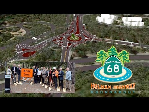 Holman Hwy 68 Roundabout Groundbreaking, Monterey, CA 2016