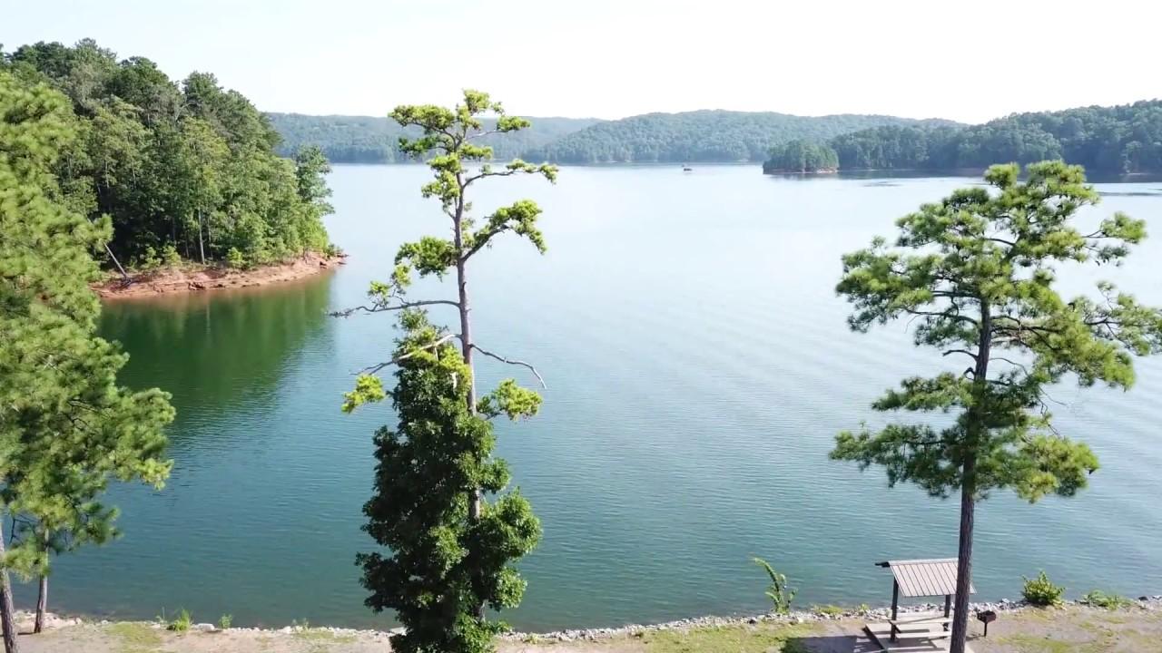 Carters Lake Georgia Drone Youtube