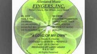 "Fingers Inc. -"" A Love Of My own"" (Extended Club mix )"