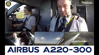 Air Baltic CS300 Silent, Sunny, Smooth: Takeoff with Geared Turbofans from Riga! [AirClips]