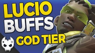 Overwatch - GOD TIER LUCIO BUFFS! - REMOVING DRAWS + MORE - PTR CHANGES