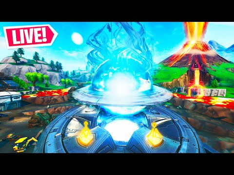 *NEW* LOOT LAKE VOLCANO EVENT in Fortnite!