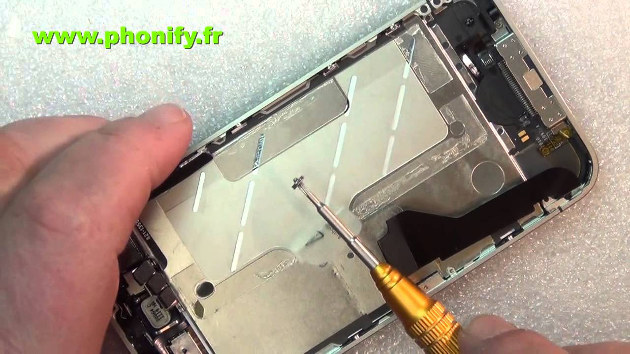 Iphone  Changer Bouton Home