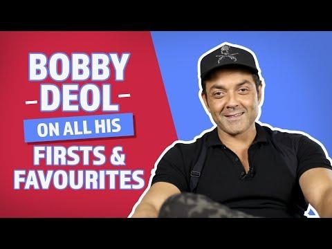 Bobby Deol On All His Firsts & Favourites   Pinkvilla   Race 3   Yamla Pagla Deewana Phir Se
