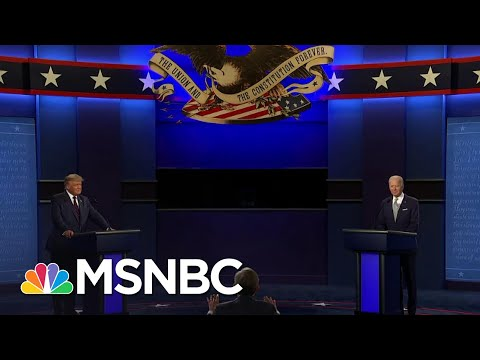 Biden Campaign: Trump's Debate Performance Was 'Despicable' | The 11th Hour | MSNBC
