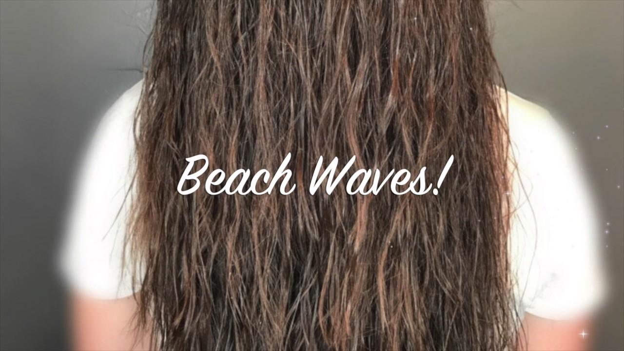 Beach Wave Perm By Megan Youtube
