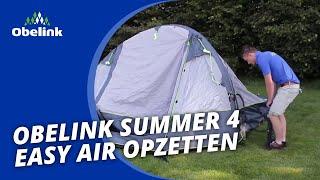 Obelink Summer 4 Easy Air - Opbouwinstructie - Hoe zet ik een Easy Air op? | Obelink Vrijetijdsmarkt