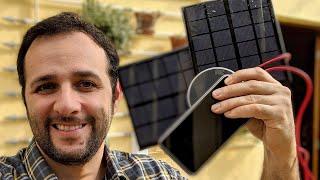 Faça em casa um carregador de celular solar