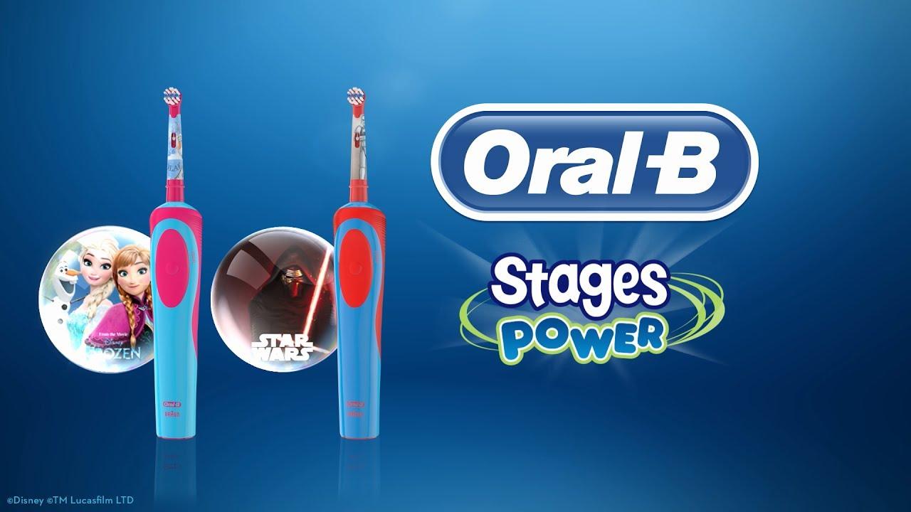 Szczoteczka elektryczna dla dzieci Oral-B Stages Power