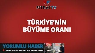 Yorumlu Haber | Türkiye'nin Büyüme Oranı