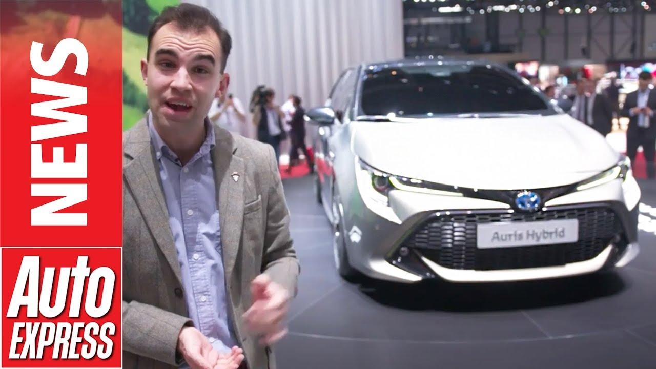 "New Toyota Auris promises ""rewarding driving experience"" - Dauer: 83 Sekunden"