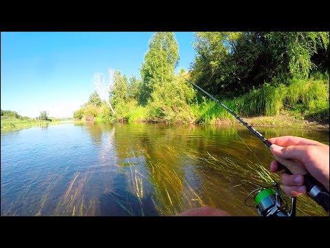 Ультралайт рыбалка на Малых реках. За что мы любим ее? Ловим в траве, в корягах. В гостях Mefik