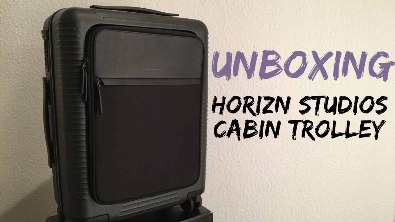 horizn studios cabin trolley all black a first look. Black Bedroom Furniture Sets. Home Design Ideas