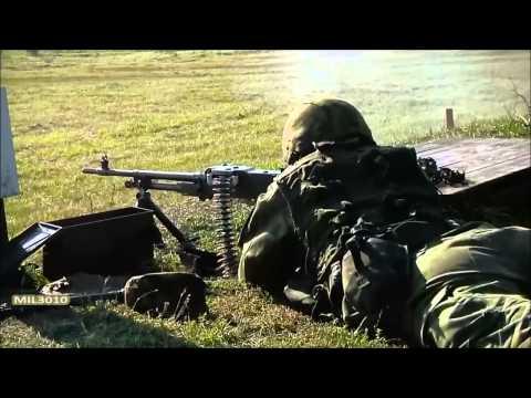 Пулеметы M249, M240 и FN MAG  Литва, НАТО