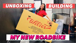 FINALLY!!! UNBOXING AND BUILDING MY NEW ROADBIKE   WILLIER GTR size XXS   by Gaye Paris