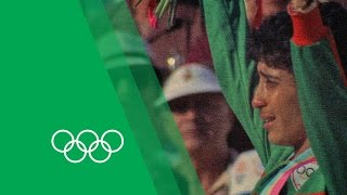 Nawal El Moutawakel on winning the first Women's Olympic 400m Hurdles | Olympic Rewind