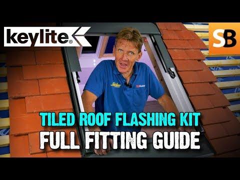 Keylite Tiled Roof Flashing Kit - Full Fitting Guide