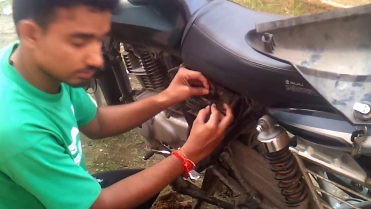 How To Fix Electric Start And Power Of Bajaj Motor Bike