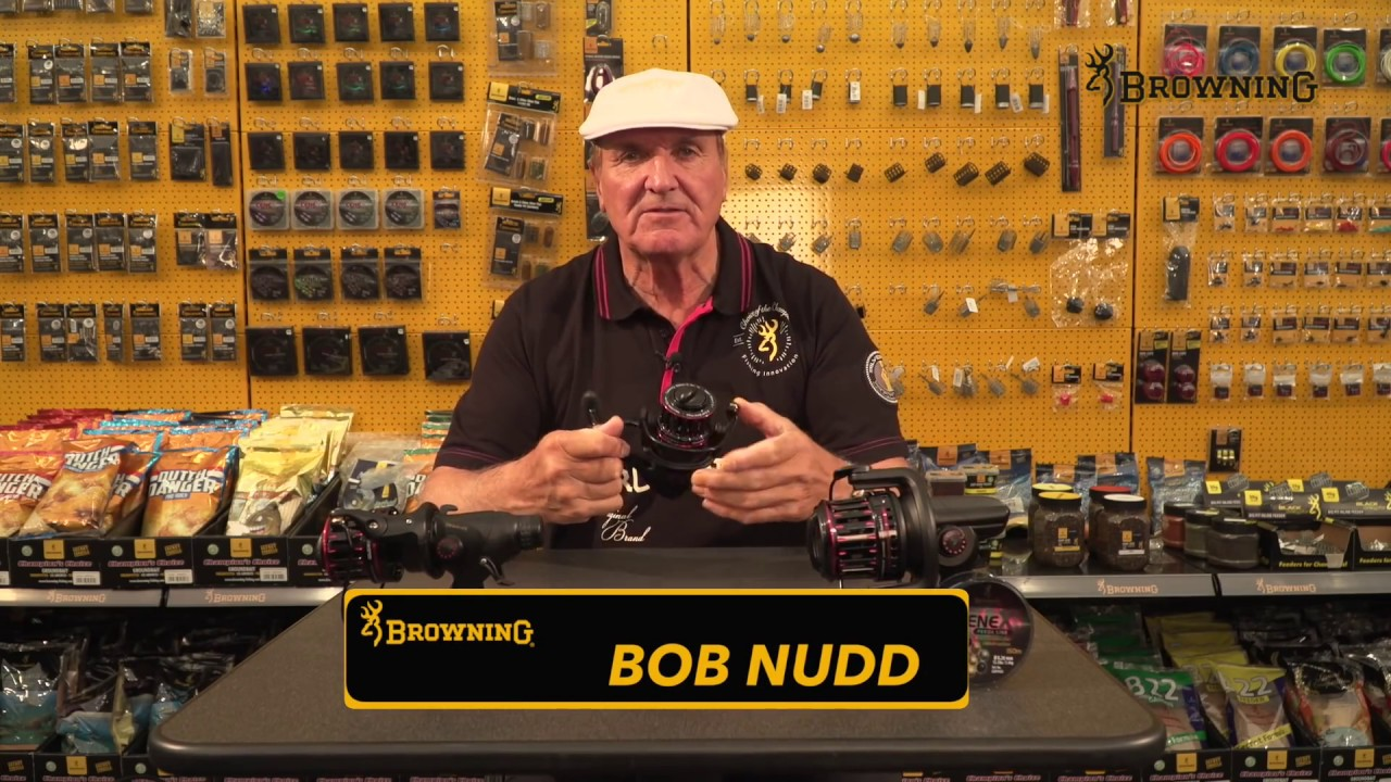 Browning Black Viper Reels – Bob Nudd shows our famous Black Viper Reels!