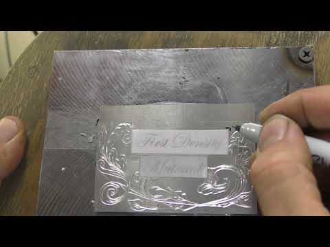 Engraving Toner transfer Plain paper easy 2 Composition trick)