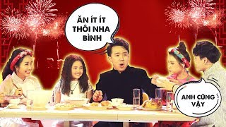 Trấn Thành, Trịnh Thăng Bình Khâm Phục Đầu Bếp Nhí 7 Tuổi Nấu Cả Mâm Cỗ Ngày Tết   Gia Đình Việt