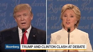 The Economic Policy Differences Between Clinton and Trump