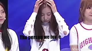 Nanwoo Break up (Nancy and Yeonwoo)