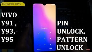 Vivo Y91 Pattern unlock hard reset without PC Successful