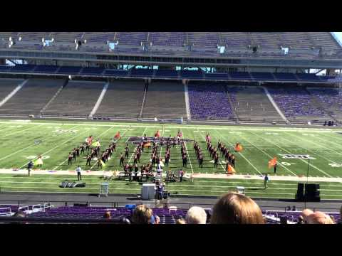 Rose Hill High School Marching Band at KSU's  28th Annual Central States Marching Festival 10-1