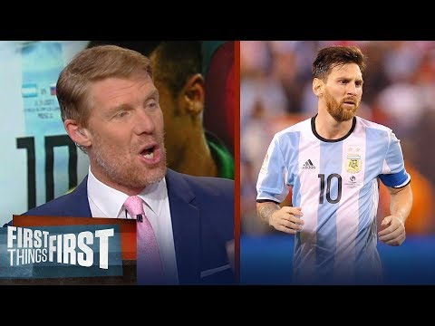 Alexi Lalas previews the 2018 FIFA World Cup in Russia, Talks Neymar and Messi | FIRST THINGS FIRST