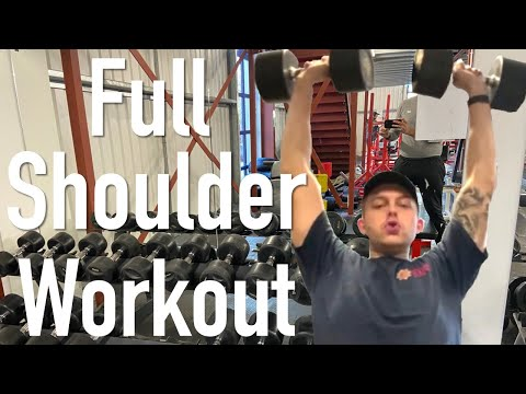 Full Shoulder Workout - Simple And Effective