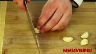 Свинина с фасолью в мультиварке-скороварке REDMOND RMC-M4504